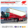 Qilin Widely Used Tare Weight 10 Tons Concrete Powder Transport Tanker Semi Trailer