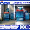 Rubber Belt Shot Blasting Machine for Blasting Small Metal Parts