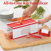 All-in-One Kitchen Slicer, Vegetable Slicer, Manual Slicer, Kitchenware