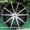 Aluminum Car Rims Concave Alloy Wheel with Via TUV Certificate