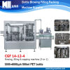 Automatic 3 in 1 Small Pet Plastic Mineral Water Filling Machine