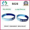 Best Selling Segment Print Silicone Sport Wrist Band
