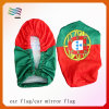Guangzhou Eco-Friendly 30*33cm Custom Car Mirror Flags (HYCM-AF005)