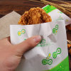 Top Quality Low Price Greaseproof Take Away Paper Food Bags