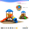 Kids Entertainment Play Set Long Slide Cute Frog Design