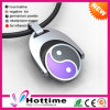 2017 Fashion Jewelry Silicoen Necklace with Stainless Steel Pendant