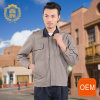 OEM Gray Polo Jack Uniform Design for Staff Uniform, Driver Uniform