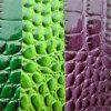 Crocodile Grain PVC Leather for Sofa Furniture Hw-865