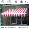 PVC/PU Coated 100% Polyester Oxford Stripe Fabric for Canopy
