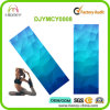 Sky Blue Diamonds Natural Rubber and Microfiber Mat for Yoga