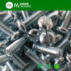 Carbon Steel Zinc Plated Brass Slotted Pan Head Machine Screw