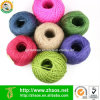 Biodegradable Natual Material Colorful Jute Rope