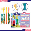 Kid/Child/Children Toothbrush with Slender & Soft Bristles 2 in 1, Gift Included The Pack 885