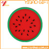 Custom Fruit Shape Silicone Tea Cup Mat/Silicone Coffer Cup Mat