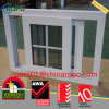 PVC Vinyl Impact Resistant Sliding Window with Colonial Bars Price
