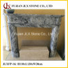 Marble Fireplace Mantel for Interior Decoration