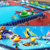 Giant Outdoor Inflatable Water Amusement Park, Water Slide Park