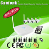 OEM 4CH/8CH Wireless IP Cameras WiFi NVR Kits of CCTV Supplier (PG)
