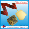 Shiny Gold Medal Trophy