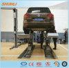 4000kg Saudi Arabia Type in Ground Mounted Car Scissor Lift