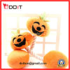 Halloween Pumpkin Squeaky Dog Product Chew Pet Toy with Rope