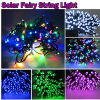 RGB Solar Powered LED Fairy String Light for Outdoor Decoration