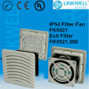Plastic Ventilation Fan and Filter (FK5521)