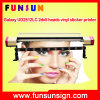 Galaxy Ud2512LC 2dx5 Heads Large Format Eco Solvent Printer (2.5m/8FT, cmyk 4 colors, 1440dpi, for vinyl stickers)