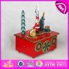 2015 New Wholesale Ballerina Wooden Music Box, Popular Children Wooden Music Box, High Quality Cheap Kid Wooden Music Toy W07b018b
