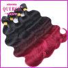 100% Virgin Omber Brazilian Human Hair Weave Body Wave Human Hair Extension, Colored Brazilian Hair