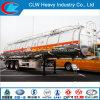 ISO CCC DOT Saso Aluminum Alloy Fuel Tank Trailer