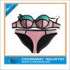 Sale Fashion Plus Size Triangle Neoprene Crochet Bikini for Women