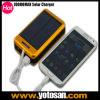 Dual USB Solar Panel Power Bank External Battery Pack Charger for Mobile Phone