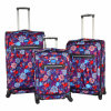 2017 Fashion Polyester Luggage Set with Printing Design