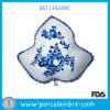 Blue and White Leap Design Fruit Dish