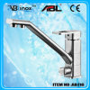 Square Stainless Steel Three Way Kitchen Faucet (AB116)