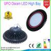 Die-Casting Housing UFO High Bay Light 100W IP65 5 Years Warranty