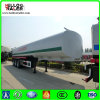 Cylindrical Shape 42cbm Fuel Tanker Trailer with 6mm Carbon Steel End Plate