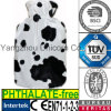 CE Cow Fur Fabric Hot Water Bottle Cover