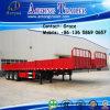Tri-Axle 60 Ton Cargo Trailer, Side Board Semitrailer, Side Boards Flatbed Semi Trailer, Flatbed with Side Wall, Sidewall Semi Trailer