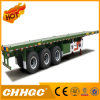 3 Axle Platform Container Semi Trailer