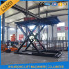 3000kgs Underground Scissor Hydraulic Car Parking System with Ce