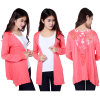 Fashion Lace Leisure Outerwear, Leisure Open Jacket