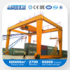 U Gantry Model Double Girder Rail Mounted Container Crane