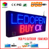 "P13 Outdoor WiFi Wireless Control 15′′x 40"" Full Color Programmable LED Sign Text Scrolling Message Board"