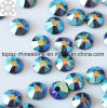 2018 Latest Hot Selling Ss16 Tanzanite Ab Hot Fix Rhinestone Glass Crystal Copy Preciosa Stone (HF-ss16 tanzanite ab /5A grade)
