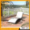 Outdoor Garden Patio Pool Furniture Rattan Wavy Shape Deck Chair Wicker Lying Rattan Lounge