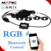 LED Rock Light Smartphone APP, Bluetooth Control 4PCS 6PCS 8PCS 12PCS in One Kit for Cars Boat