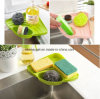 Kitchen Sink Caddy Sponge Holder Scratcher Holder Cleaning Brush Holder Sink Organizer Esg10226