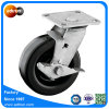 Top Lock Braked Heavy Duty Rubber Industrial Wheel Caster